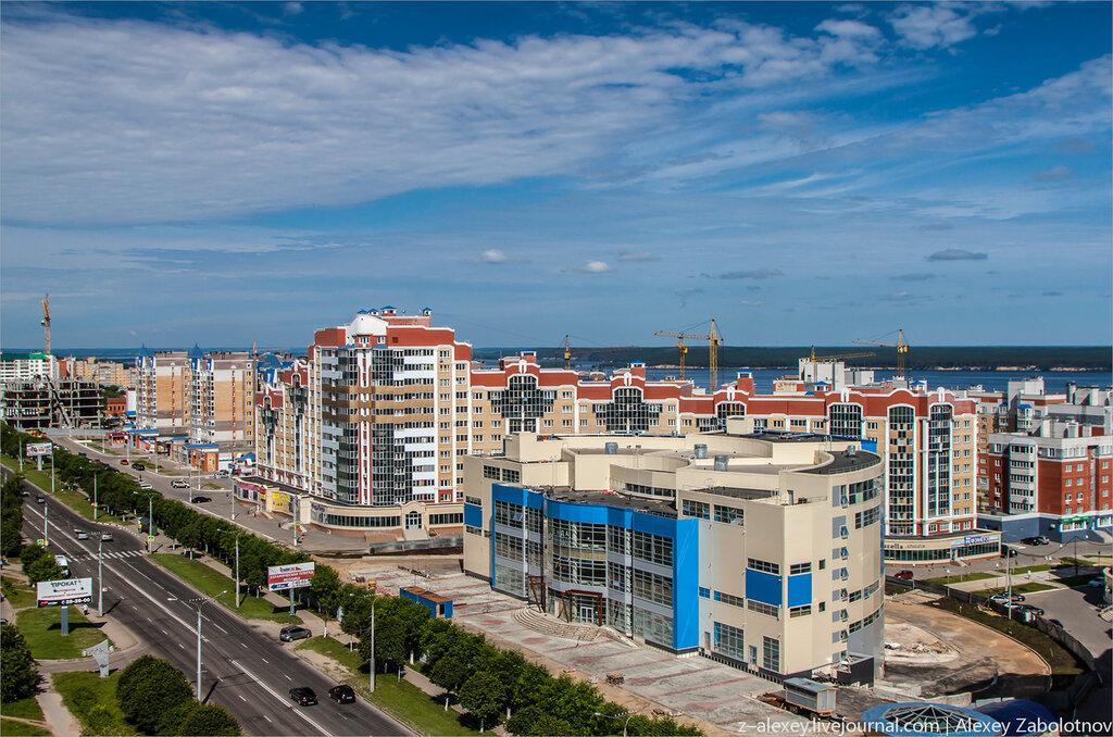 Фото Чебоксар Северо-западный район СЗР с высоты