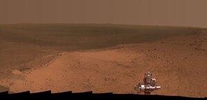 Opportunity отметил 11-летие с момента посадки на Марс