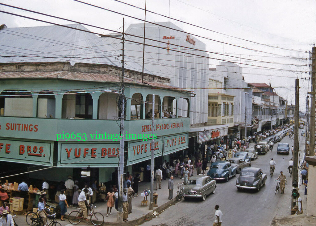 1950-е Тринидад Фредерик стрит3.JPG
