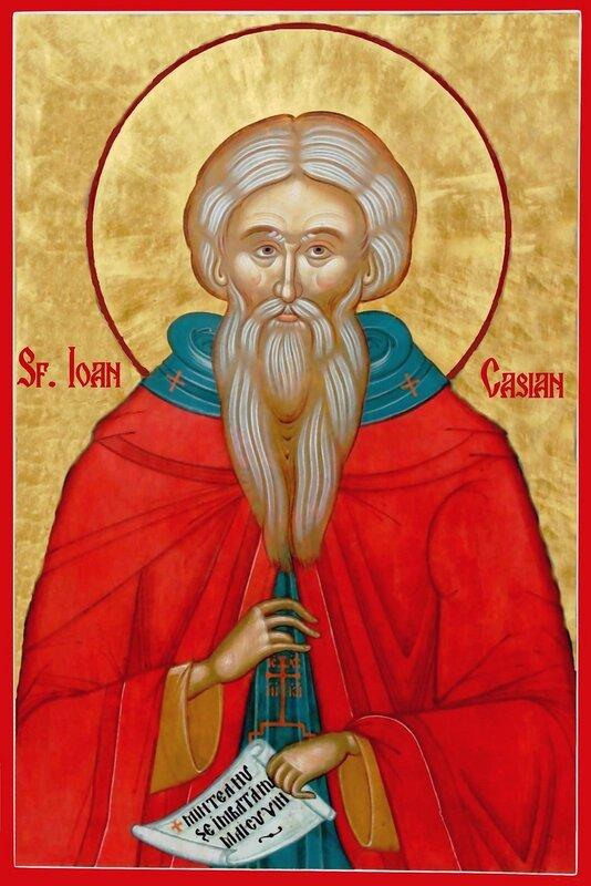 Святой Преподобный Иоанн Кассиан Римлянин.