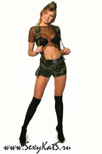 Какие в секси военные
