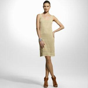 Платье и кофточка от Ralph-a - ажуры спицами.