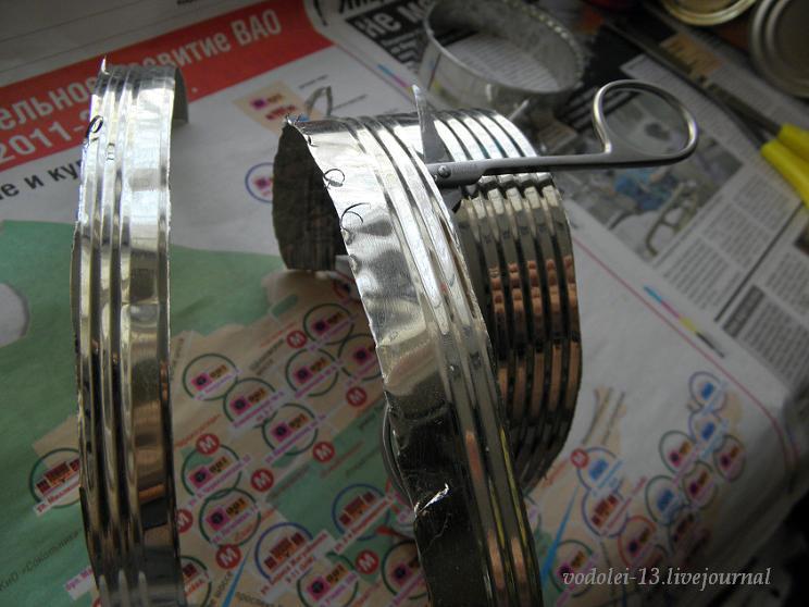 как разрезать жестяную банку