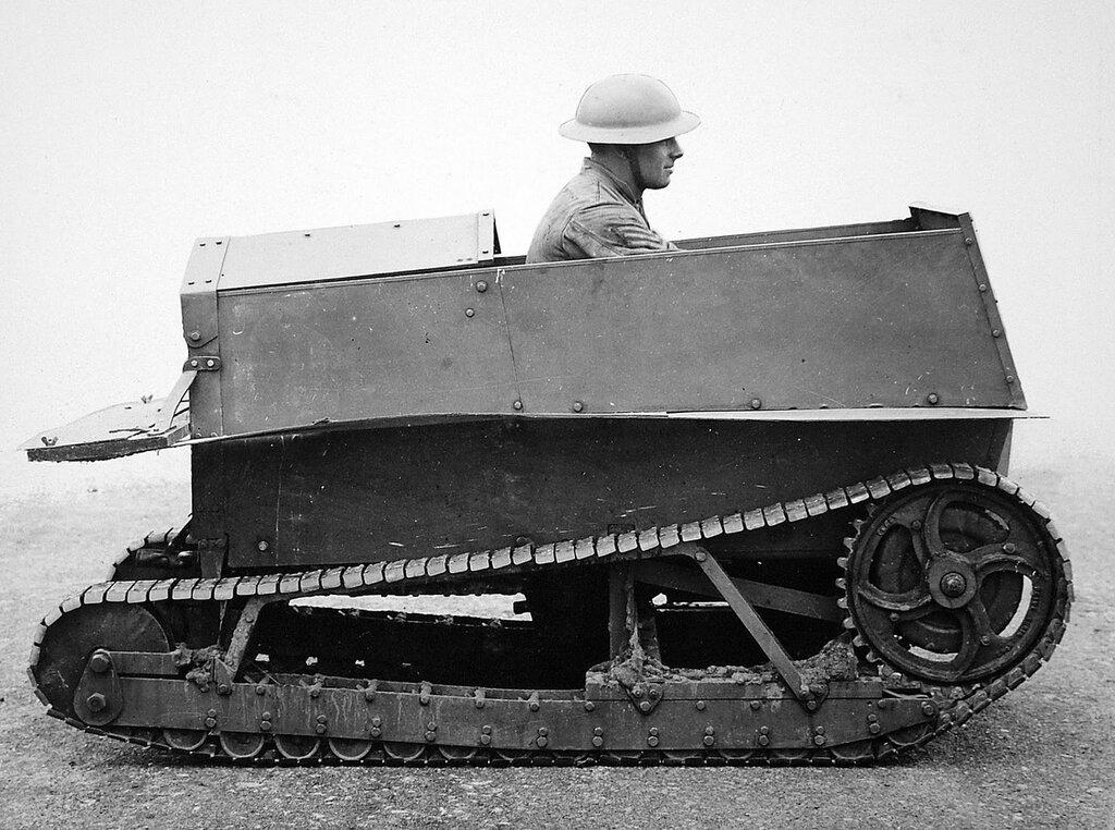 Carden-Loyd One Man Tankette, 1926