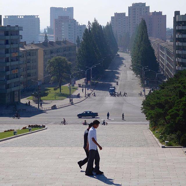 Центр Хамхына — второго по численности города страны. В городе проживает более 760000 человек.