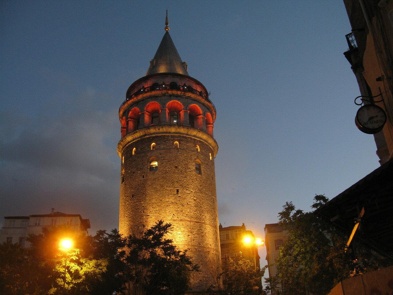 Галатская башня. Автор фото: Станислав Кривошеев