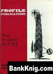 Книга Fokker D.VIII   [Aircraft Profile 067]