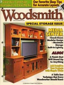Журнал Woodsmith (декабрь 2008 - январь 2009)