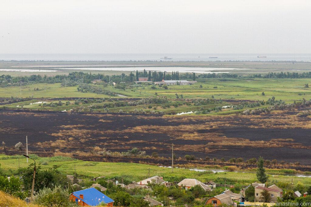 Военная горка, Азовское море, Темрюк