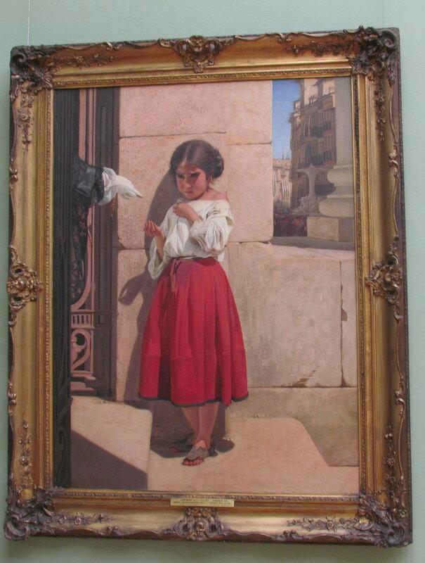 Сорокин Е.С. Нищая девочка-испанка. 1852.