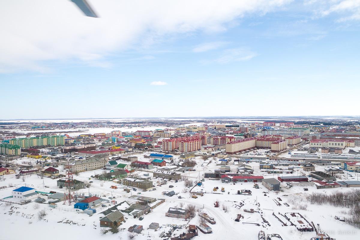 Нарьян-Мар с вертолёта фото 14