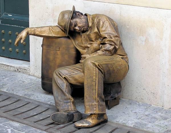 Живые статуи