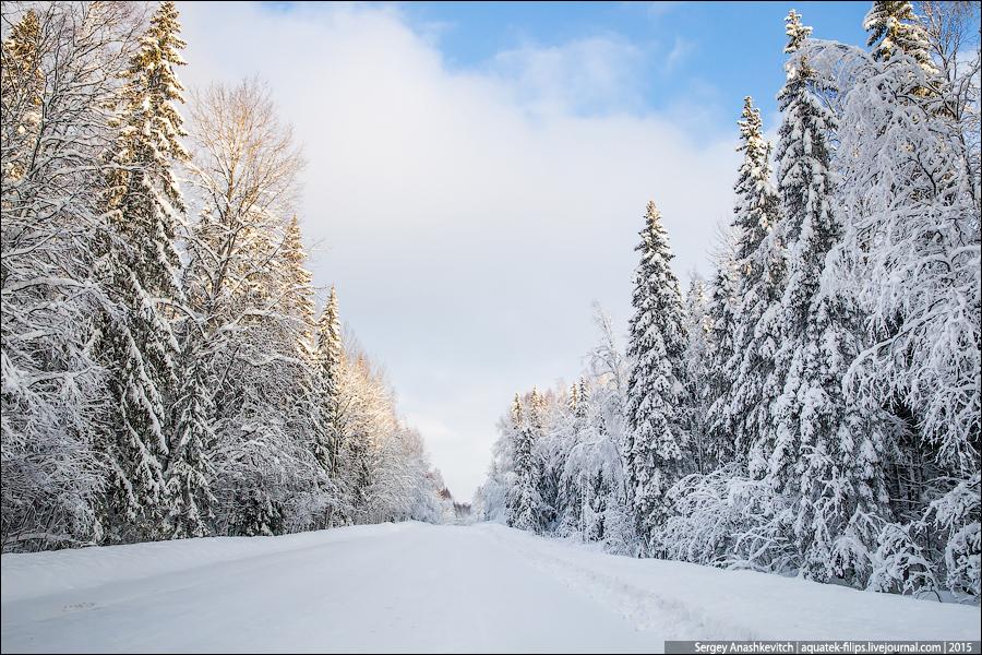 Карельские дороги