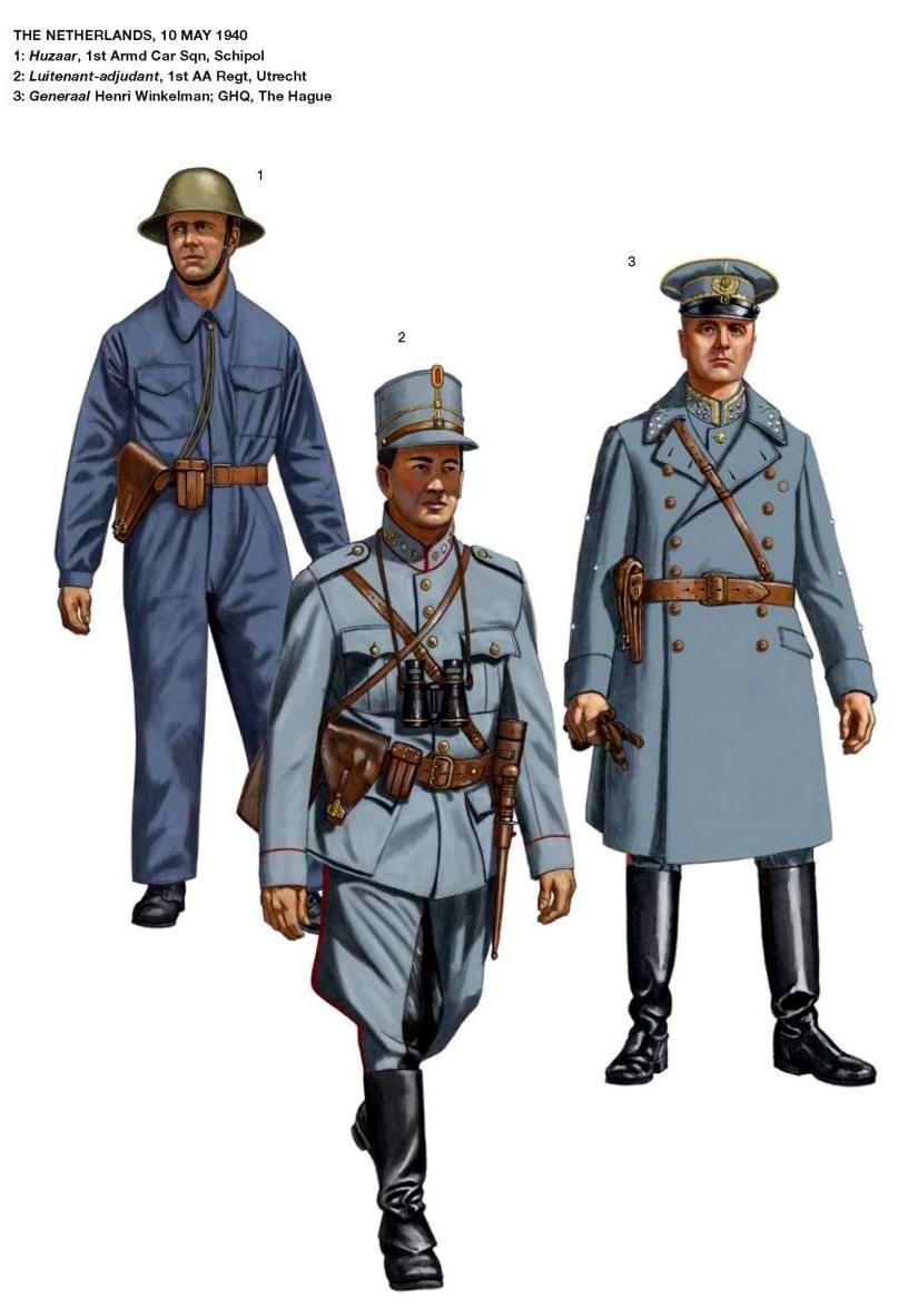 Военнослужащие армии Нидерландов