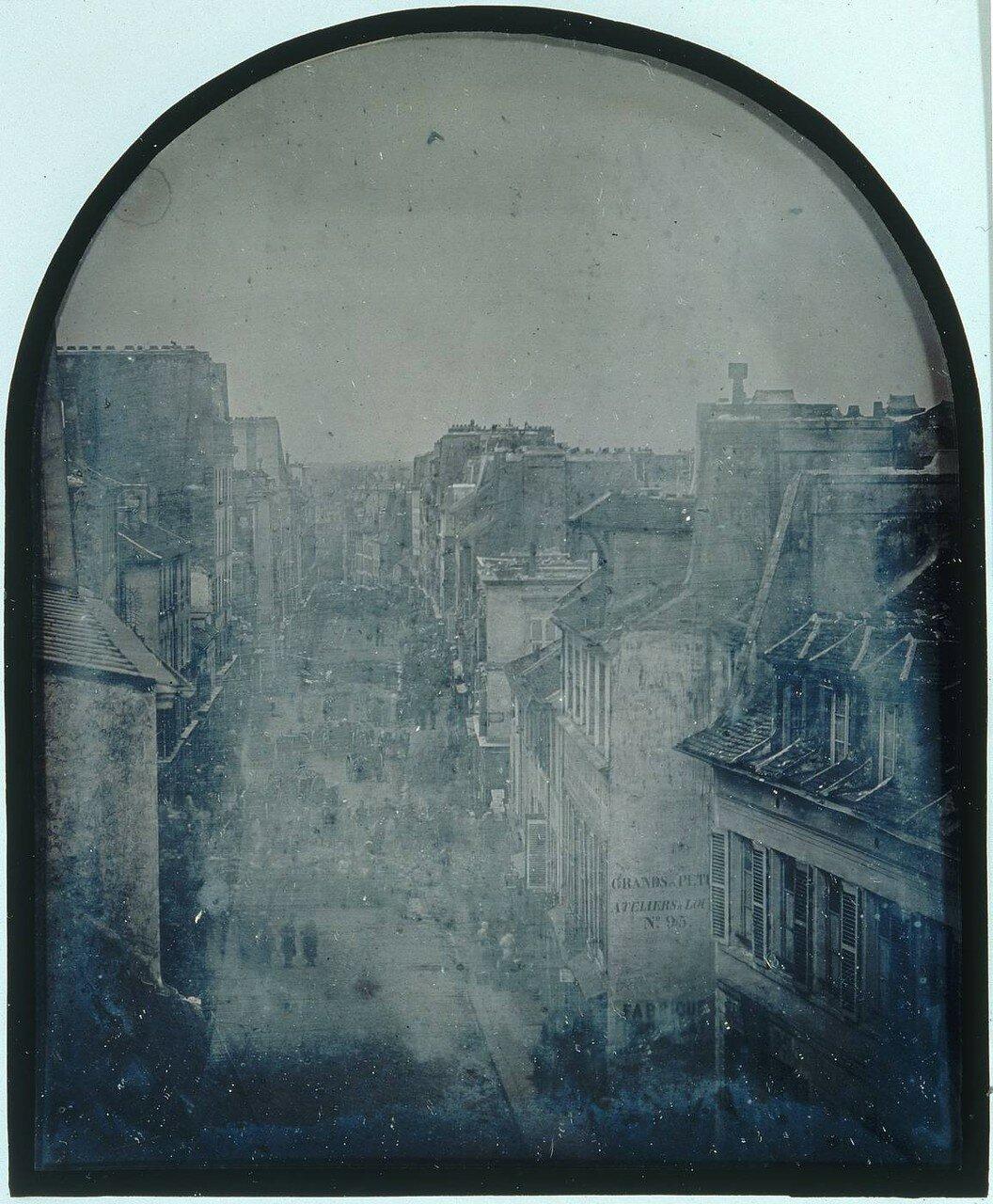 1848. Баррикада на Сен-Мор. Перед атакой 25 июня