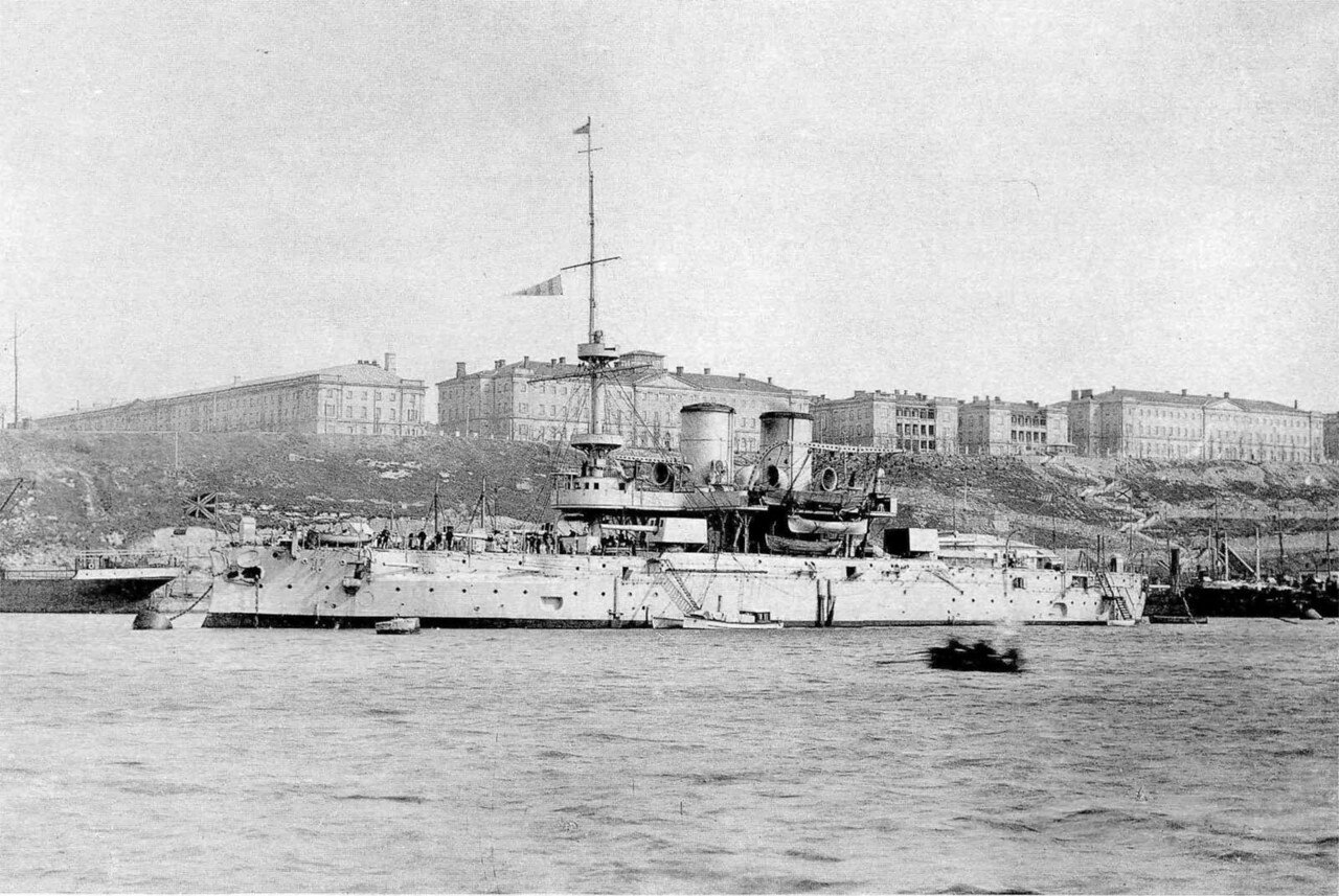 Линейный корабль Синоп в Южной бухте, 1916