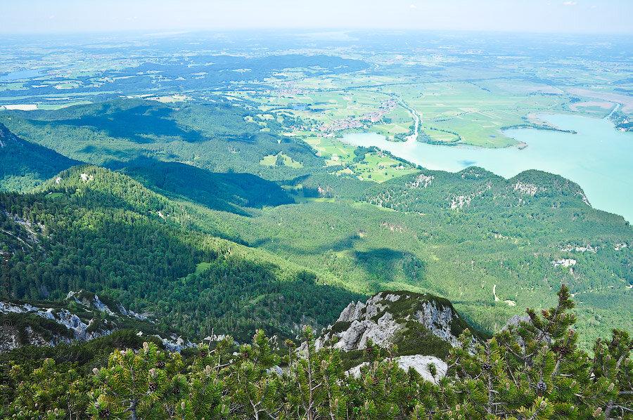 Горы, как средство от атеизма. Херцогштанд. Бавария.
