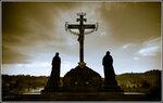 Карлов мост. Святое распятие на Голгофе