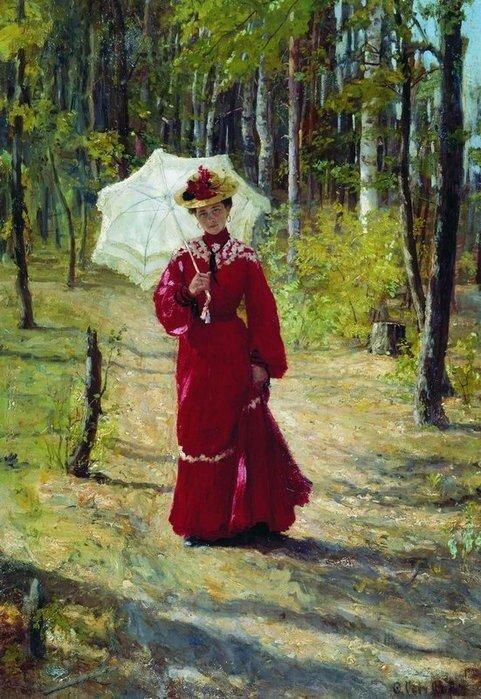 Сычков Федот, Женский портрет. 1903