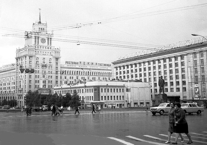 Площадь Маяковского ныне Триумфальная, 1973 г.