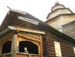 Храм вблизи. Нижегородский музей деревянного зодчества