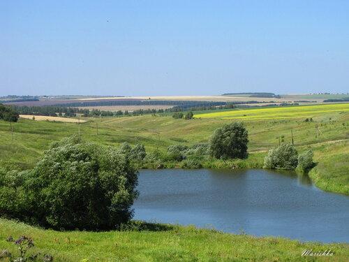 Просторы Нижегородской земли