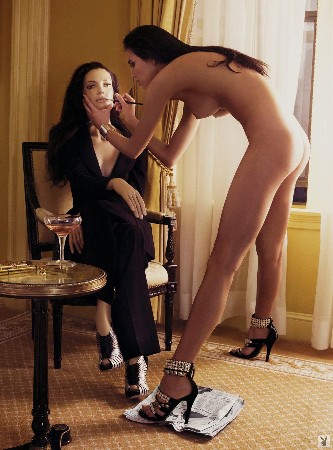 Алина Пушкау / Alina Puscau in Playboy Magazine november 2009