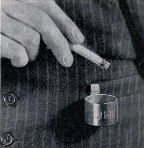 Мобильная пепельница (США, 1950)