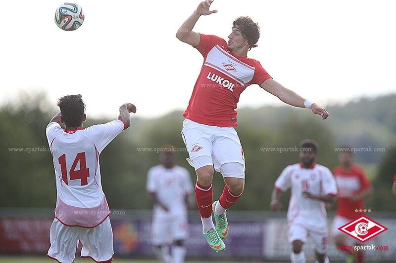 «Спартак» сыграл вничью с ОАЭ в контрольном матче