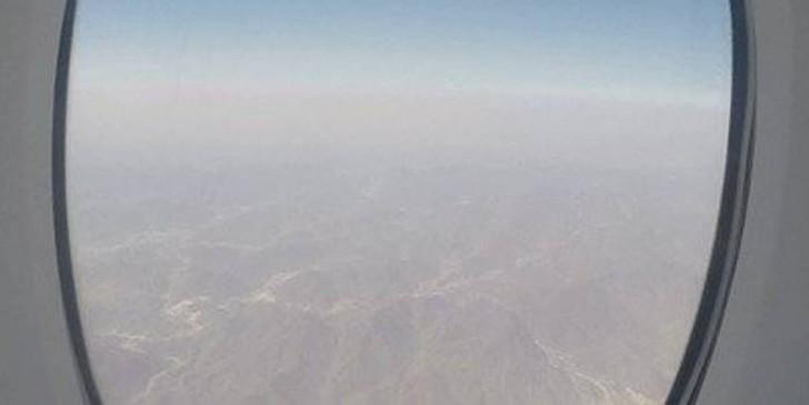 46. Во время приземления я получил представление об удивительных пейзажах Ближнего Востока.