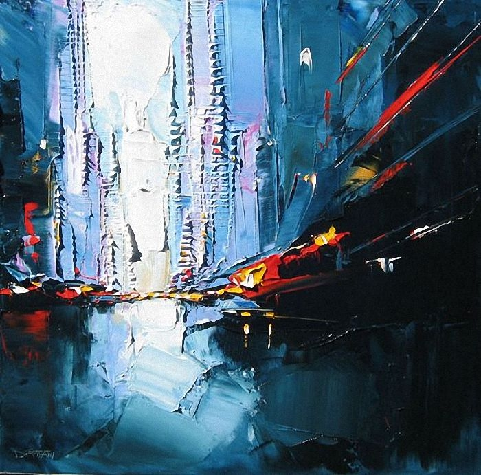 Городские пейзажи от Daniel Castan