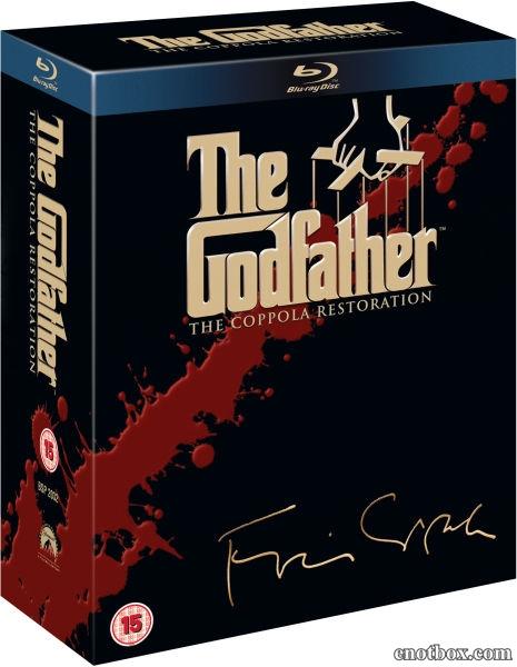 Крестный отец: Трилогия / The Godfather Collection: The Coppola Restoration / 1972-1990 / 4 x ПМ / HDRip