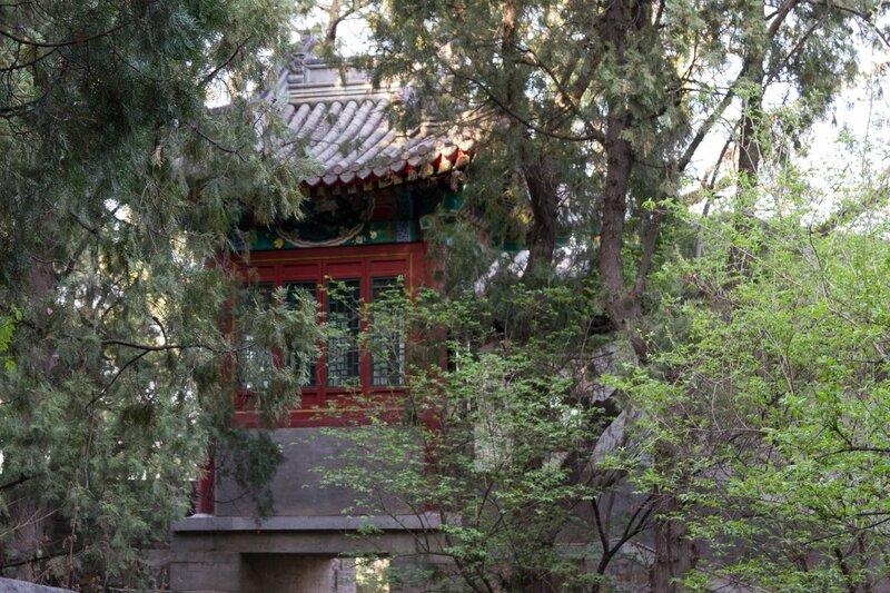 Павильон, парк Сяншань, Пекин