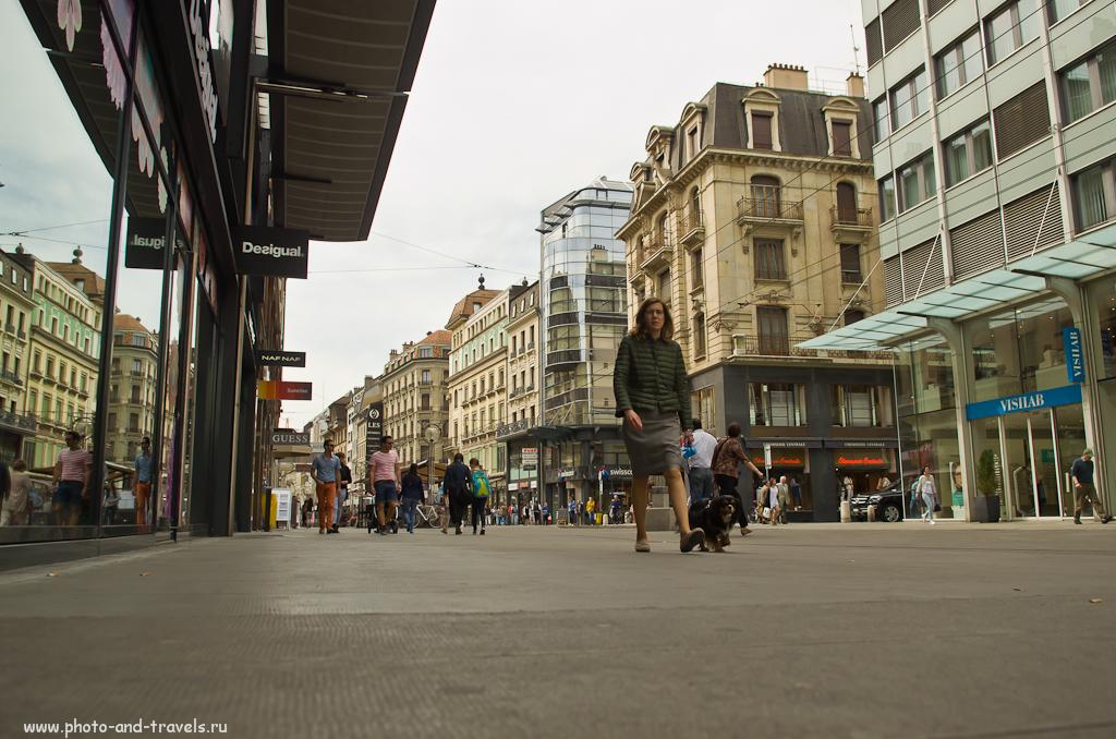 Фотография 6. Отчет о поездке в Швейцарию. На улицах Женевы