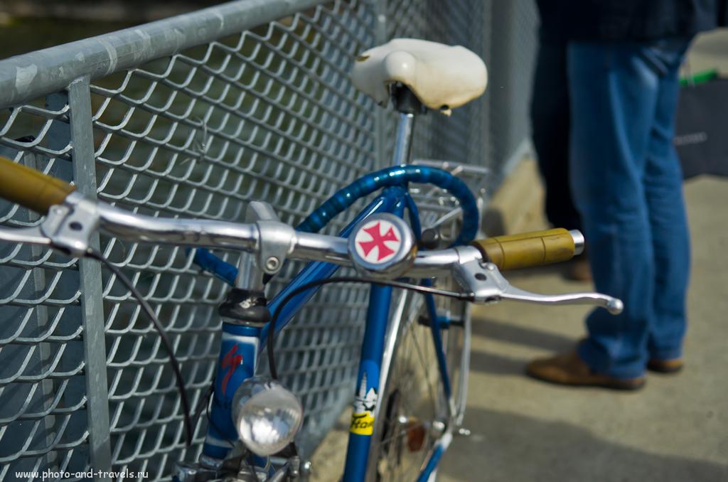 Фото 14. Отчет об экскурсии по Женеве. Патриотичный велосипед