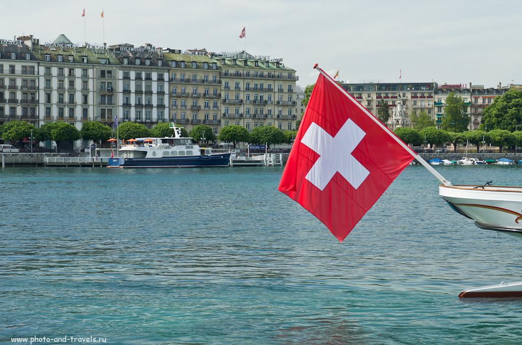 Фотография 18. Путешествие в Швейцарию. На Женевском озере