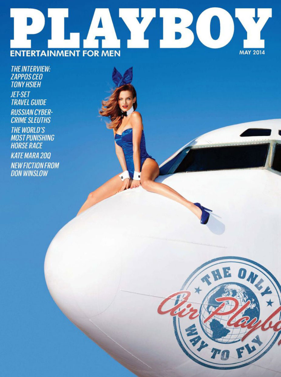 Air Playboy in Playboy USA may 2014 - Alyssa Arce, Marketa Janska, Pamela Horton, Val Keil by Tony Kelly