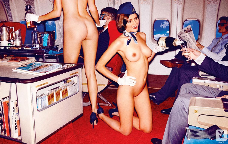 Голые американские стюардессы а фото 594-859