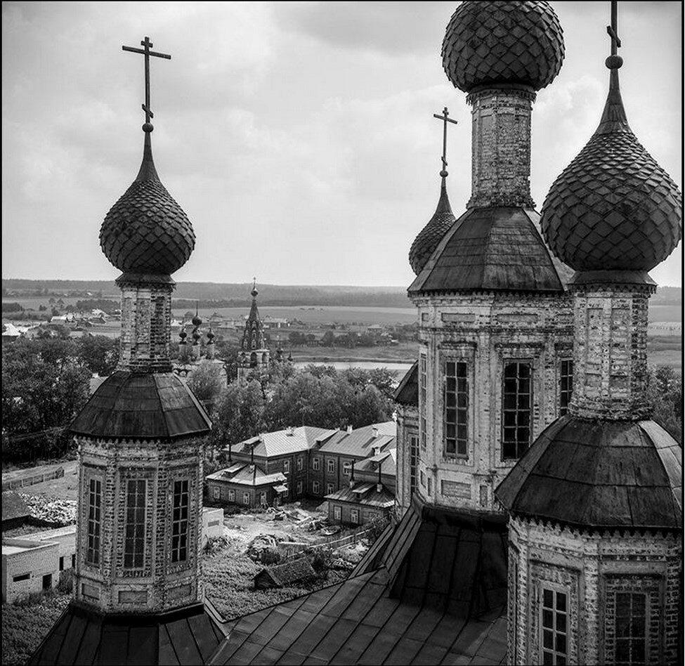 Купола Рождественского собора