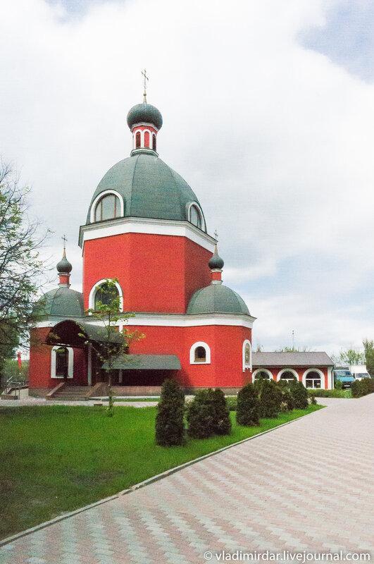 Крестовская часовня