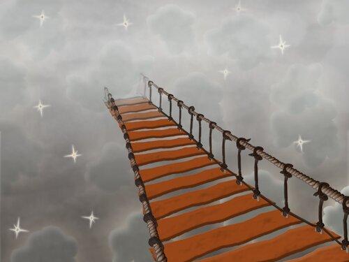 Мост через реку тумана...