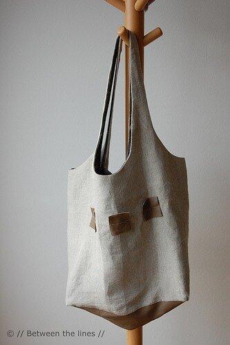 сшить сумку своими руками - мастер класс.