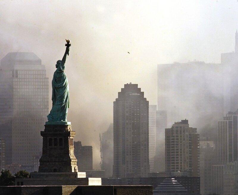 Нью-Йорк в дыму