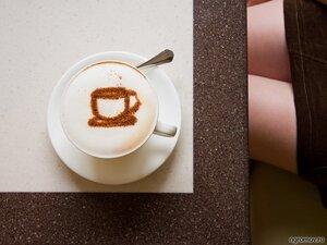 Кофе для девушки (кофе, чашка)