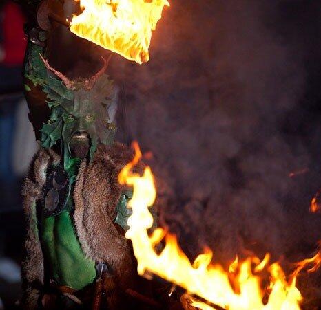 Кельтский фестиваль Самайн