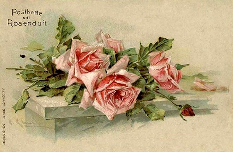 К.  Кляйн.  98.  Розы.