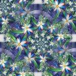 цветочный фрактал