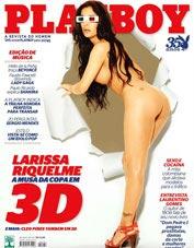Larissa Riquelme in 3D for Playboy Brasilia