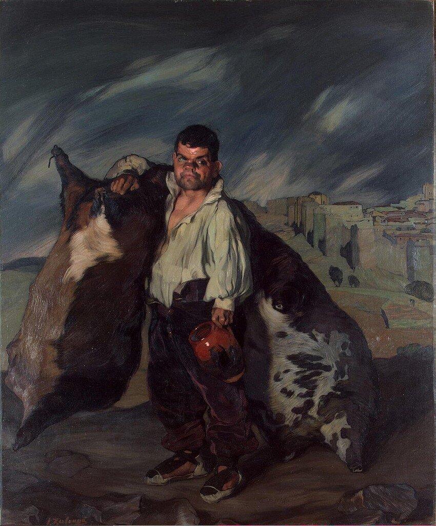 Гном Грегорио, 1900,Ignacio Zuloaga