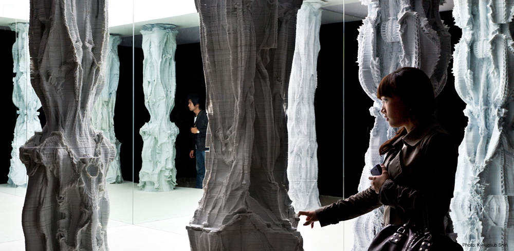 Columns by Michael Hansmeyer